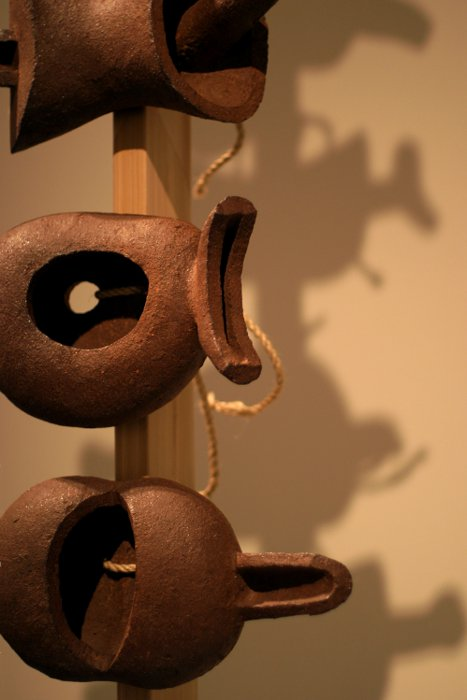 AGO AbEx - Even the Centipede by Isamu Noguchi    (click for previous picture)