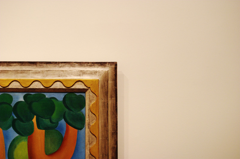 AGO Picturing the Americas: Tarsila Do Amaral - Postcard    (click for previous picture)