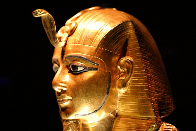 King Tut - Mask of Psusennes I    (click for previous picture)