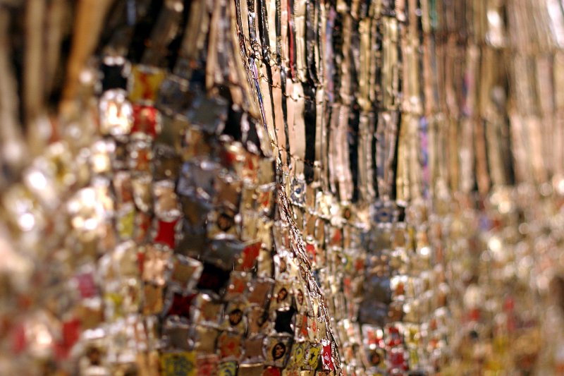 AGO Zebra Crossing by El Anatsui    (click for previous picture)