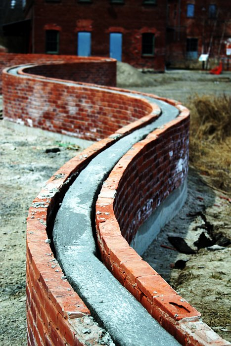 Brickworks wall    (click for previous picture)