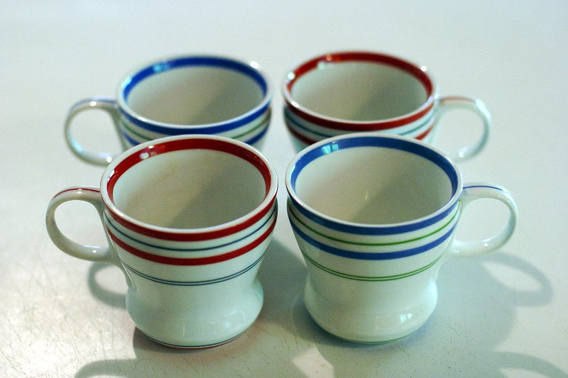 Cottage Coffee Mugs    (click for previous picture)