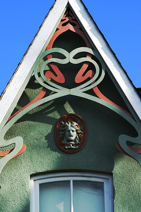 Gable snakes    (click for previous picture)