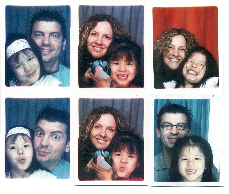 Photobooth montage (picture number 700!)    (click for previous picture)