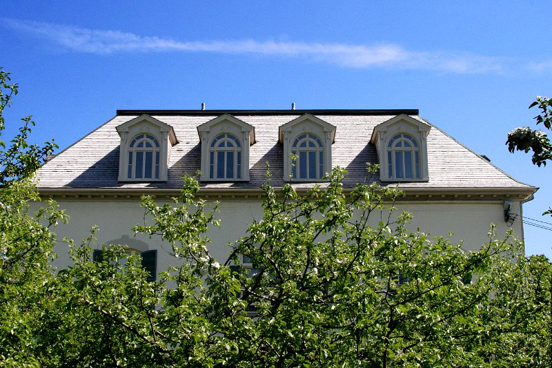 Spadina House Dormers    (click for previous picture)
