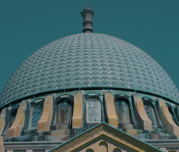 Antique dome    (click for previous picture)