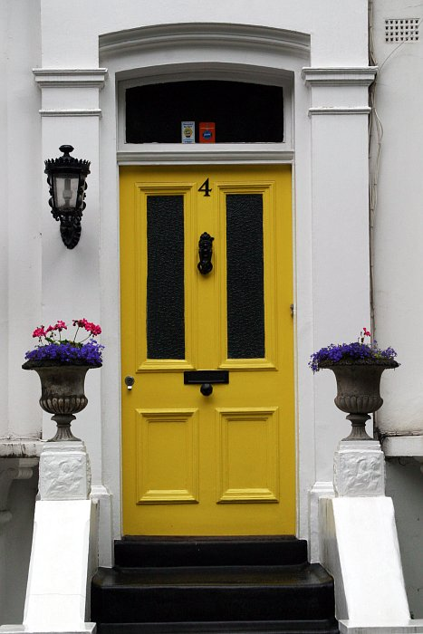 Yellow Door Number 4    (click for previous picture)