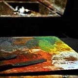 David Milne palette