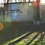 The best advice is written in spray paint?