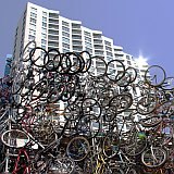 Bike Arch at Queens Quay