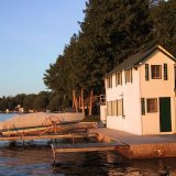 Boat house green