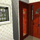 POV-Ray front door