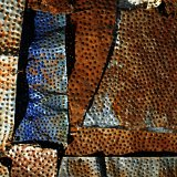 Crumbling Wall by El Anatsui