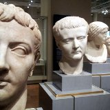 Roman busts with Greek inspiration